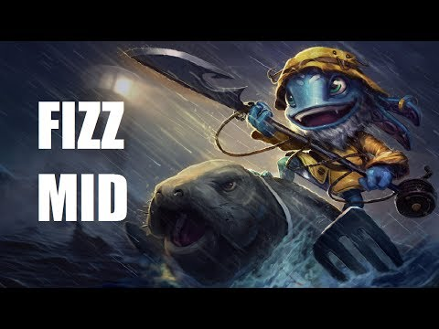 League of Legends - Fisherman Fizz Mid - Full Game Commentary Music Videos