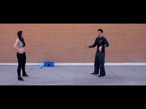 Bold Guy vs Dance Girl (Freestyle Techno / House Battle)