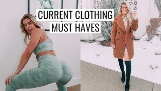 CURRENT CLOTHING FAVES & TRY ON