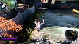 Infamous Second Son - Hidden Wall Glitch