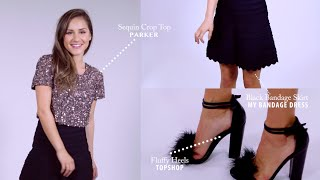 4 Easy Holiday Party Outfit Ideas! (STYLEWIRE)   Hollywire
