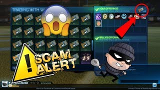 *OMG* BIGGEST SCAMMER ON ROCKET LEAGUE TRIES TO SCAM ALL MY ITEMS!! MUST WATCH!!