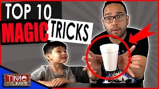 TOP 10 Magic Tricks to do at the Dinner Table or Restaurant