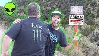 WE ARE THE FIRST TO RAID AREA 51 (Kyle Runners Worked!!)