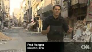 Syria: Front line battles take Damascus suburbs back to