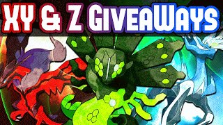 XY & Z Serial Code Pokemon Giveaway - Shiny Xerneas & Yveltal, Zygarde