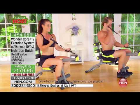Wonder Core 2 Exercise System with Workout DVD and Nutri...