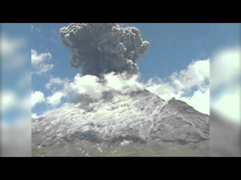 Raw: Volcano Erupts Near Mexico City