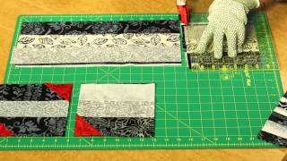 Quilting Quickly: Smoke and Fire - Two-Color Quilt with a Pop