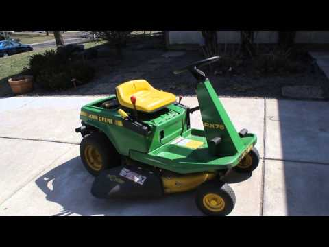 John Deere Rx75 Tractor Riding Lawnmower additionally John Deere 265 Belt Replacement Diagram also B00JVYEROQ in addition John Deere 120 Mower Belt Diagram likewise 170576798531. on john deere rx75 belts