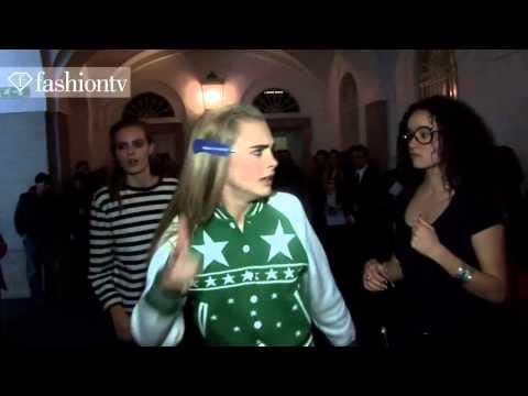 Model Talks   Cara Delevingne   Fall Winter 2013 14 Fashion Week   Fashiontv video