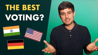 Which Country's Voting System is Best?    Explained by Dhruv Rathee