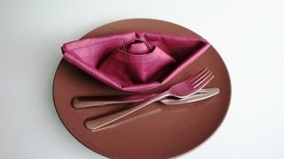 Servietten falten: Schiff / Boot napkin folding boat / ship