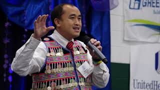 Quest Speaker Yauo Yang Speach @ Wausau Hmong new year 2018 -19