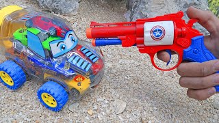 Monster Toy Sports cars Crash & Car Toys Transformation