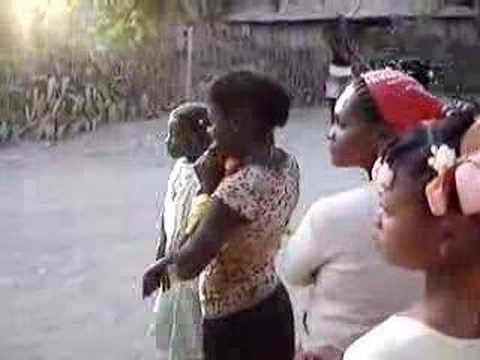Prelude To Mardi Gras In Rural Haiti