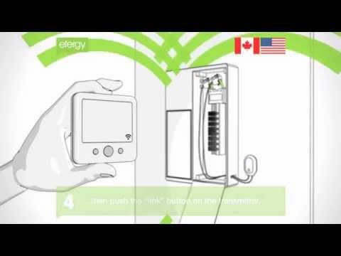 Efergy electricity monitor USA installation