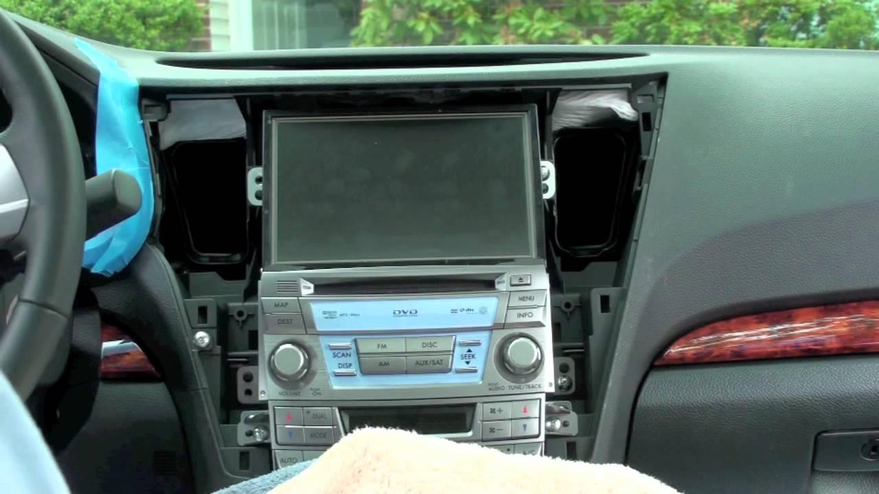 2010 2011 Subaru Legacy Outback Oem Navigation Mod
