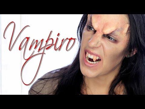 Tutorial maquillaje vampiro enfadado para hombre | Silvia Quiros