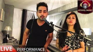 Adel Khan ft. Indira Barua - Agar Shab Ha LIVE VIDEO