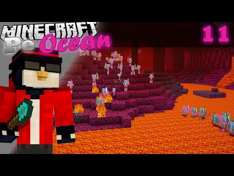 Minecraft Pe Ocean Prima calatorie in Nether m a ucis Ep.11 S.3