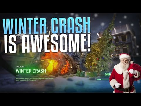 WINTER CRASH IS AWESOME! (MWR Winter Crash Gameplay & Easter Egg Review)