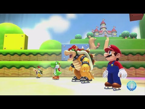 Mario and Sonic at the Sochi 2014 Olympic Winter Games Mario Stage Medley Wii U