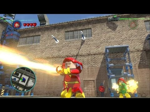 This video shows free roam gameplay with Phoenix, Jean Grey and Dark Phoenix in LEGO Marvel Super Heroes. Dark Phoenix is a DLC Super Pack specific character whereas Phoenix and Jean Grey.