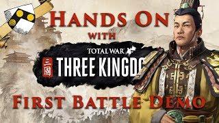 HANDS ON with Total War: Three Kingdoms Ambush Battle Gameplay