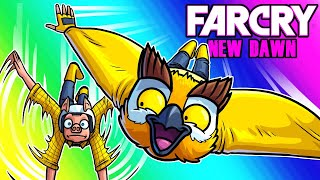 Far Cry: New Dawn Funny Moments - Yellow Squad Adventure With Wildcat!