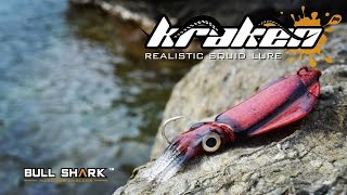 NEW!!! KRAKEN - calamar de vinilo [JIGGING] squid soft lure