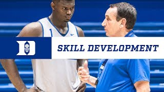 Duke Basketball: Skill Development (10/12/18)