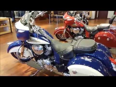 2015 Indian Chieftain @ Indian Motorcycle of El Cajon