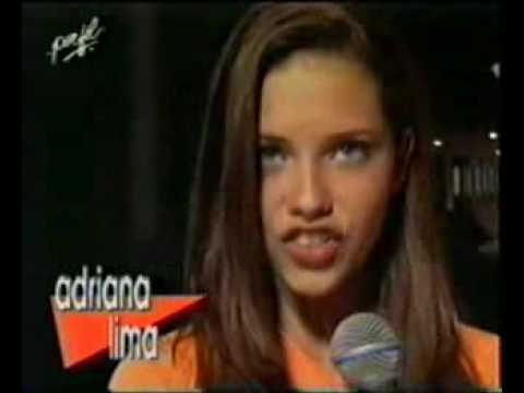 Adriana Lima with15 years old – Ford Modeling Contest