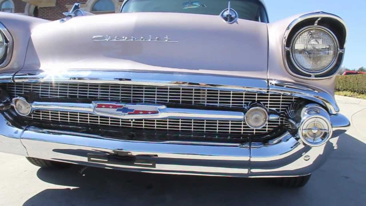 1957 Chevy 210 Classic Muscle Car For Sale In Mi Vanguard Motor Sales Youtube