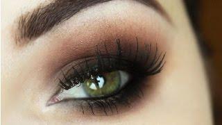 Maquiagem com Olho Marrom Esfumado para Iniciantes - Makeup Tutorial Brown Smokey Eyes