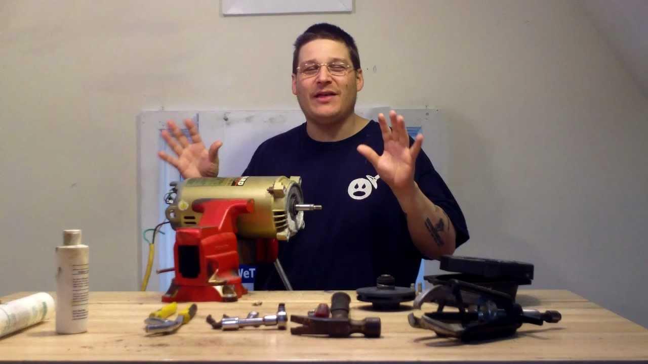 Hayward super pump with ao smith motor rebuild part 1 for Rebuilt pool pump motors