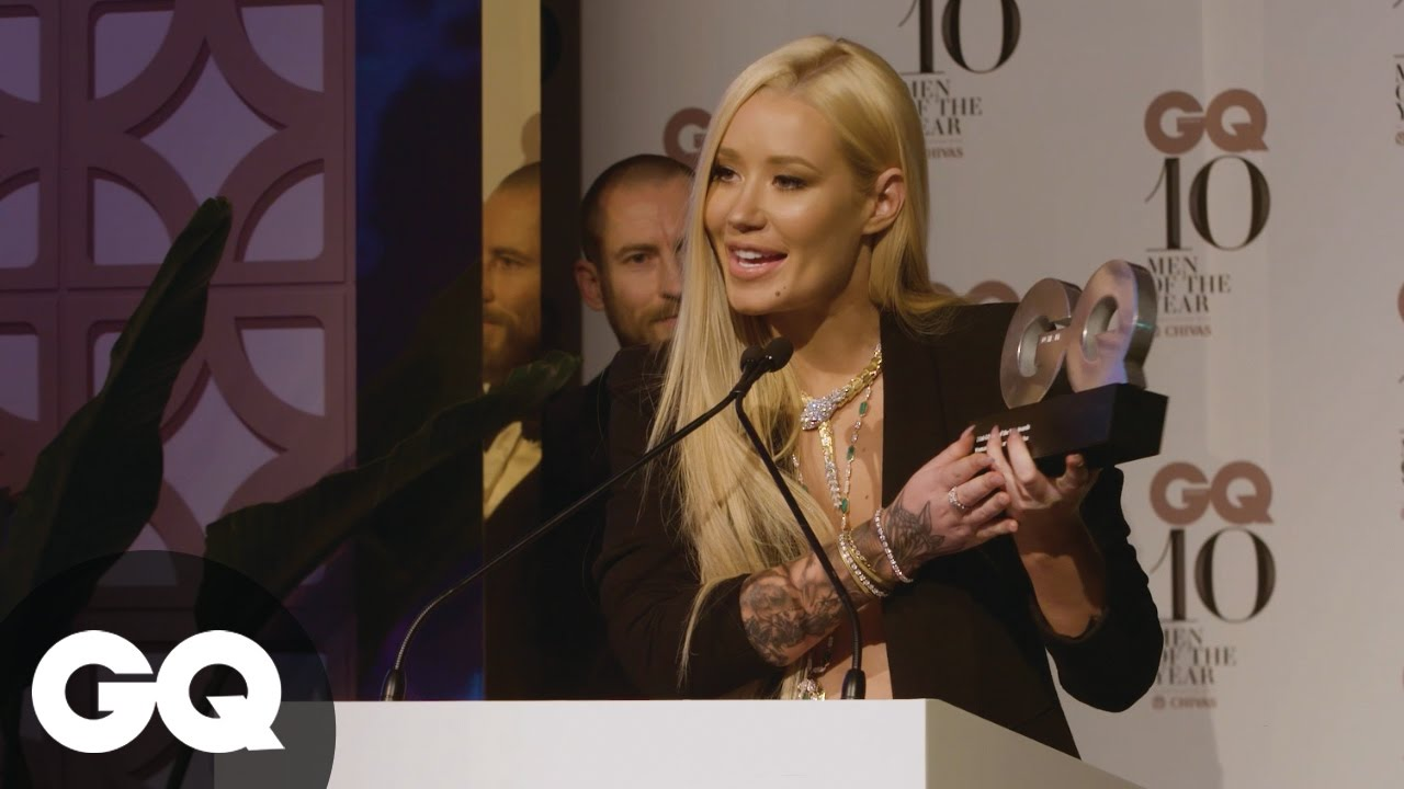 "Iggy Azalea Says She Has ""An Award Winning .""   GQ   Speech"