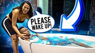 BEST DEAD BOYFRIEND SCARE PRANK EVER ON GIRLFRIEND!!!