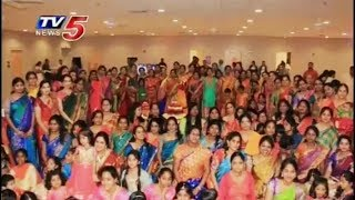 Telugu NRIs Grandly Celebrate Bathukamma in Kentucky, Louisville