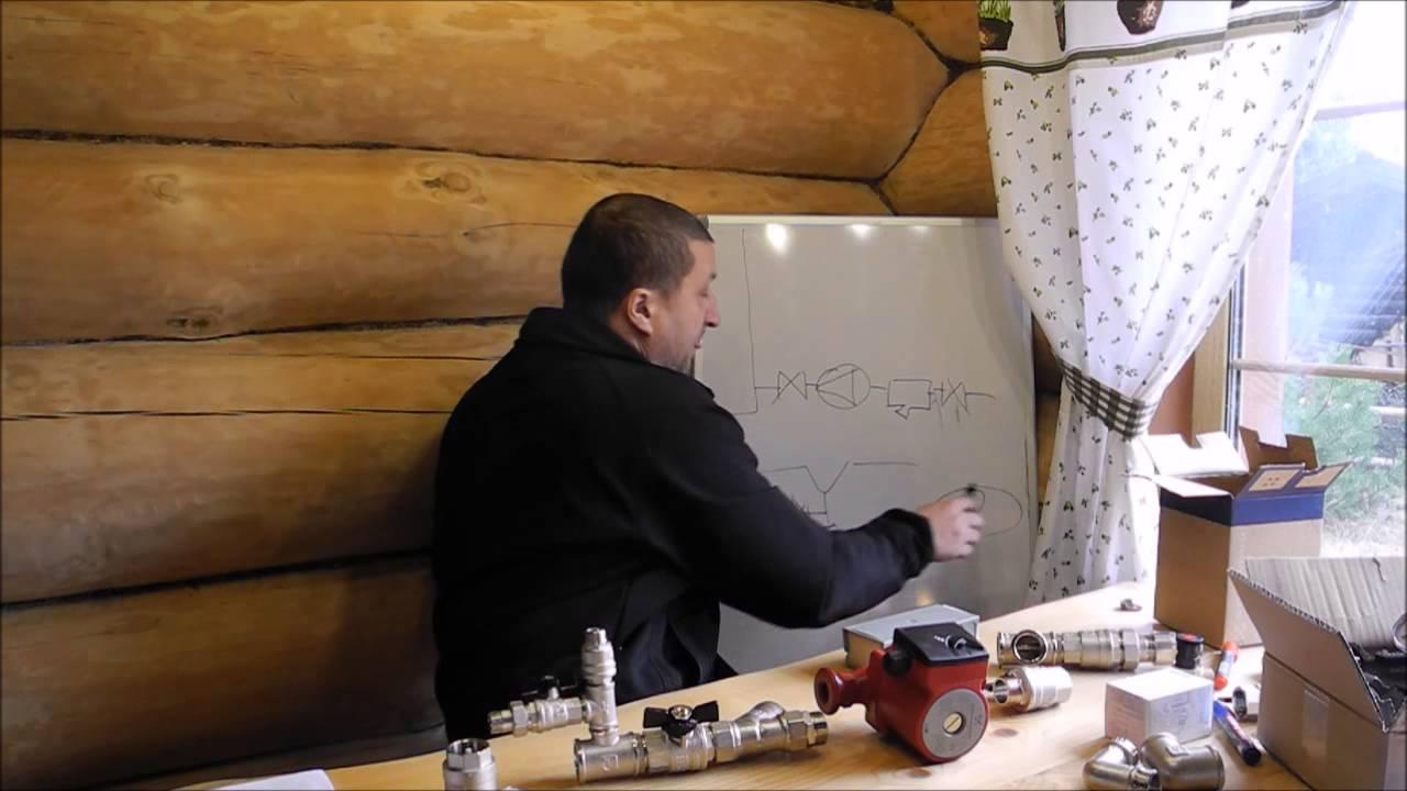 Отопление дома своими руками видеомонтаж 14