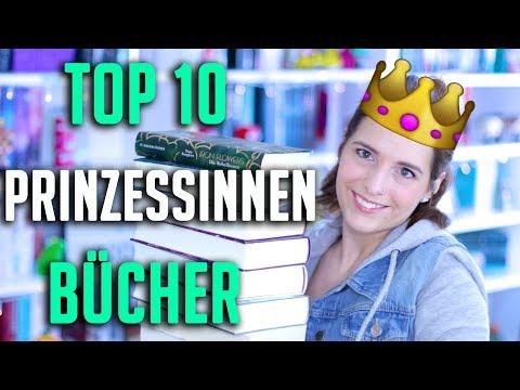 TOP 10 | Die BESTEN Prinzessinnen BÜCHER, Buchtipps + Gewinnspiel (deutsch)| melodyofbooks