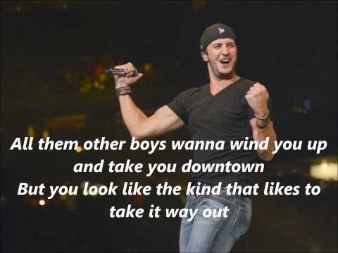 Luke Bryan That's My Kind Of Night With Lyrics video