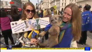 Brexit fallout: Sky News coverage of the People's Vote March