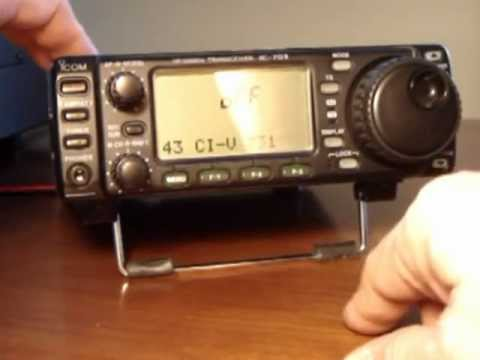 400 Hz INRAD CW I.F. Filter Installation - IC 703
