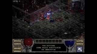 "Diablo - Level 3 - Walkthrough - First Encounter with ""The Butcher"" - 2018-10-12"