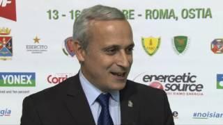 BEC Vice-President João Matos at Yonex Italian International 2016