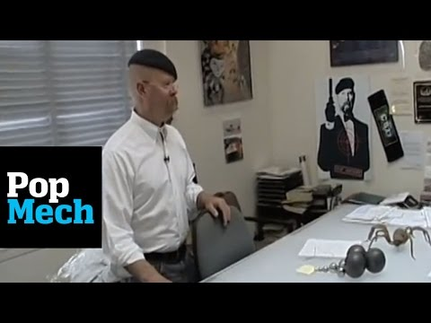 Jamie Hyneman s Office: Popular Mechanics Tours the MythBusters Workshop