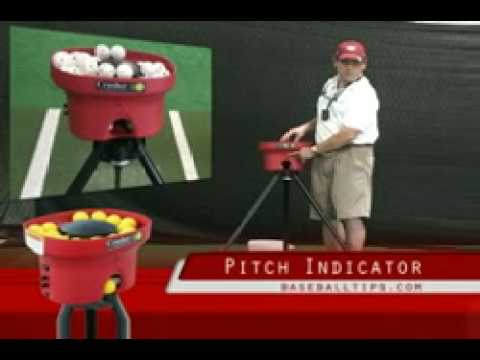 Crush-It Pitching Machine Throws Golf Wiffle Balls