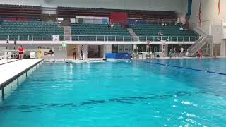 Underwater dolphin kick is extremely important for Underwater Rugby.